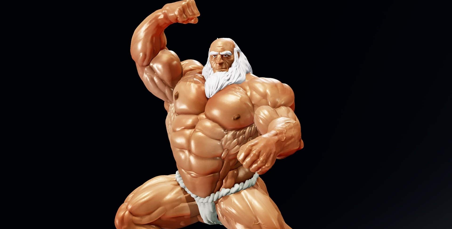 bodybuilders who started late in life