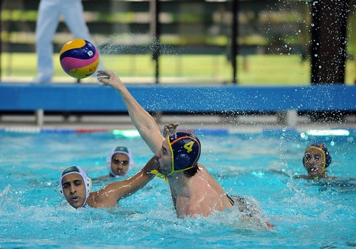 what muscles does water polo work